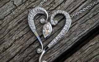 Custom Heart Pendant - Ropers Jewelers