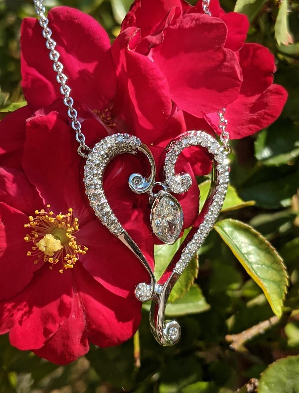 Custom Heart Pendant - Ropers Jewelers