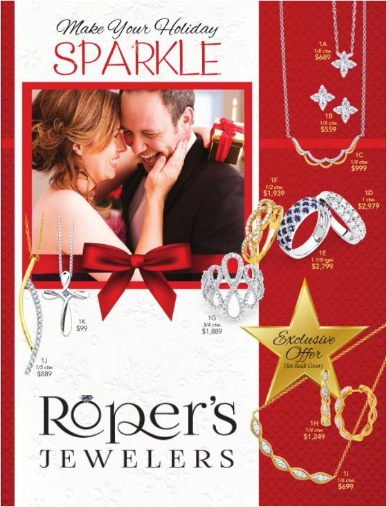 Roper's Holiday Sparkle Digital Wish Book