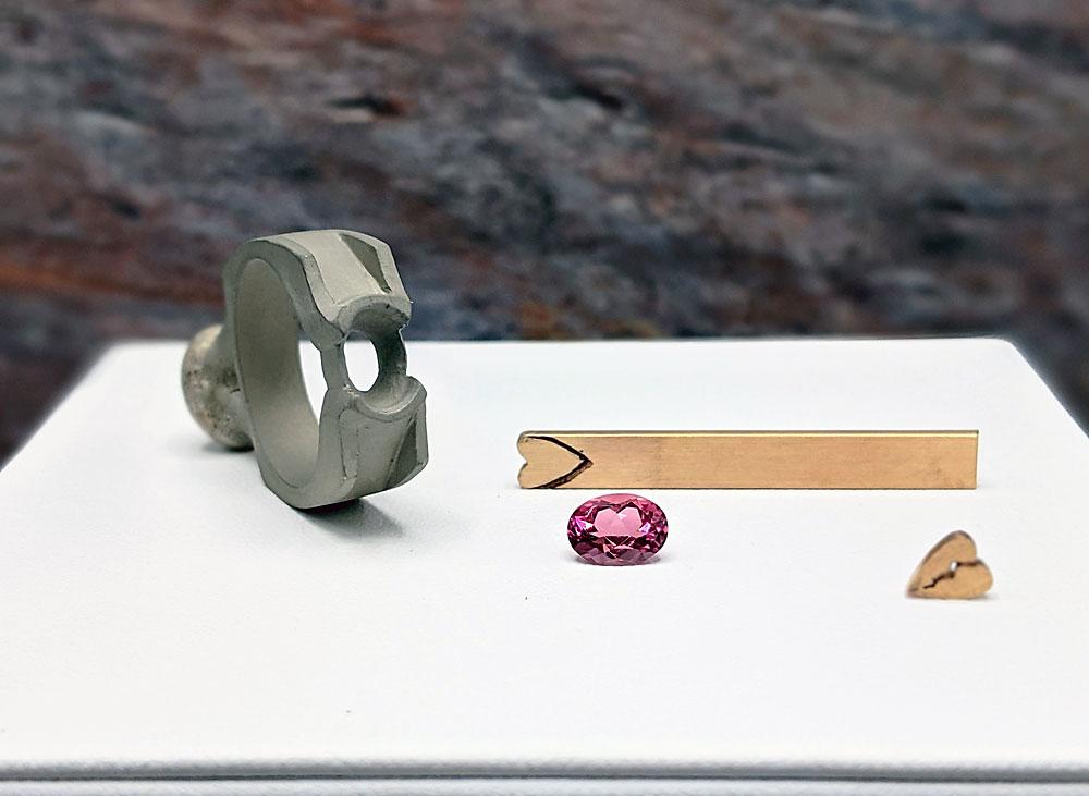 Custom Jewelry Design at Roper's Jewelers - Step 4