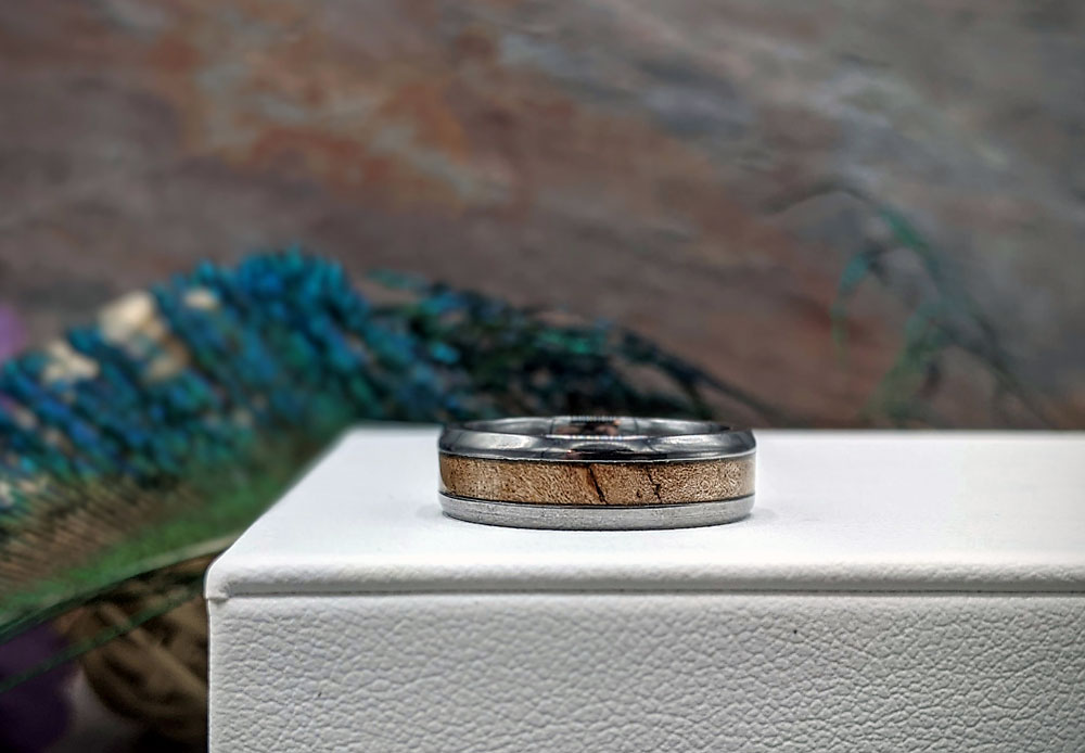 From a hunk of wood to a new wedding band