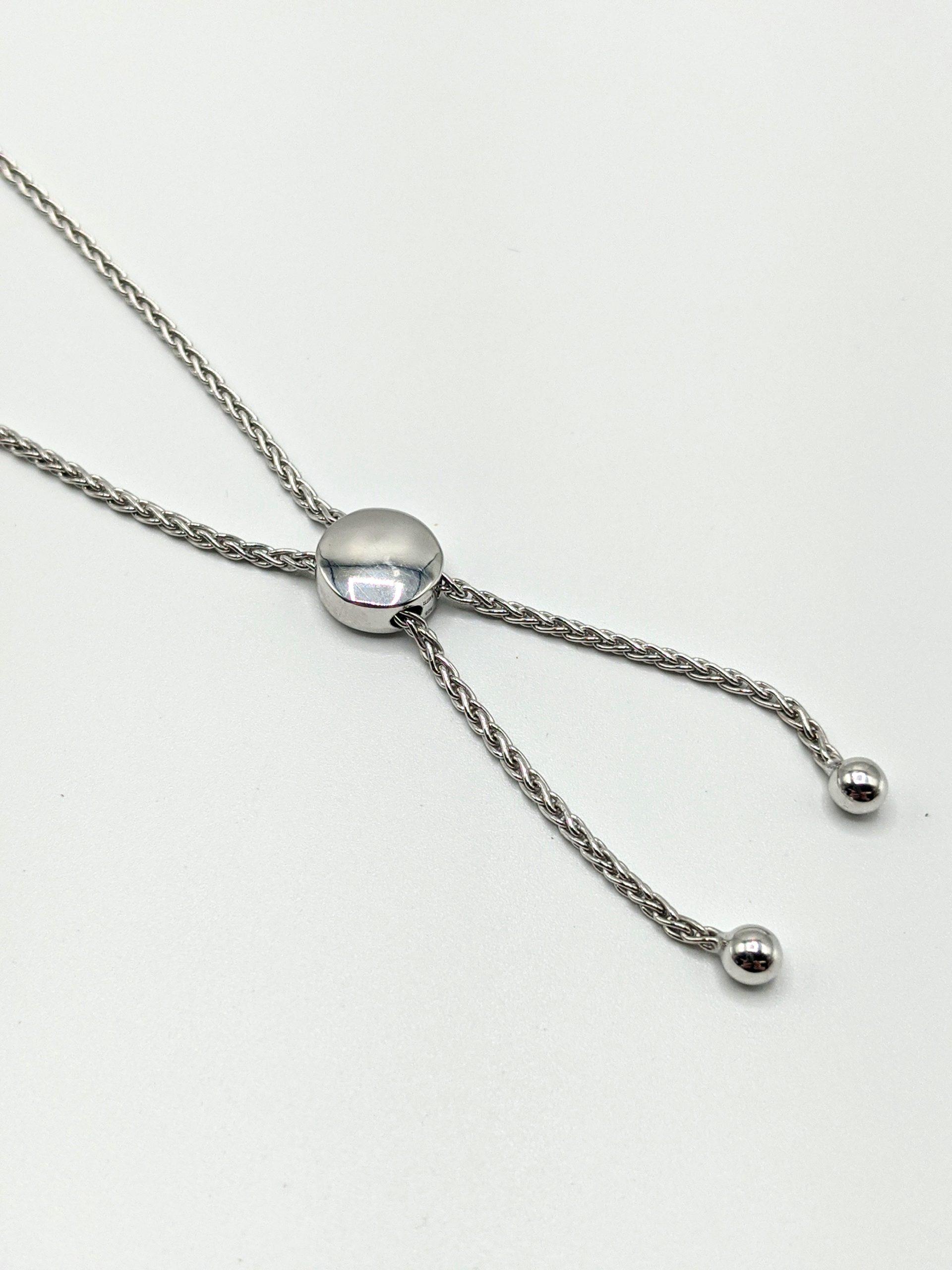 Sterling Silver Bolo Bracelet 2