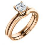 Cushion Rose Wedding Ring - Auburn CA