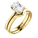 Oval Yellow Wedding Ring - Auburn CA