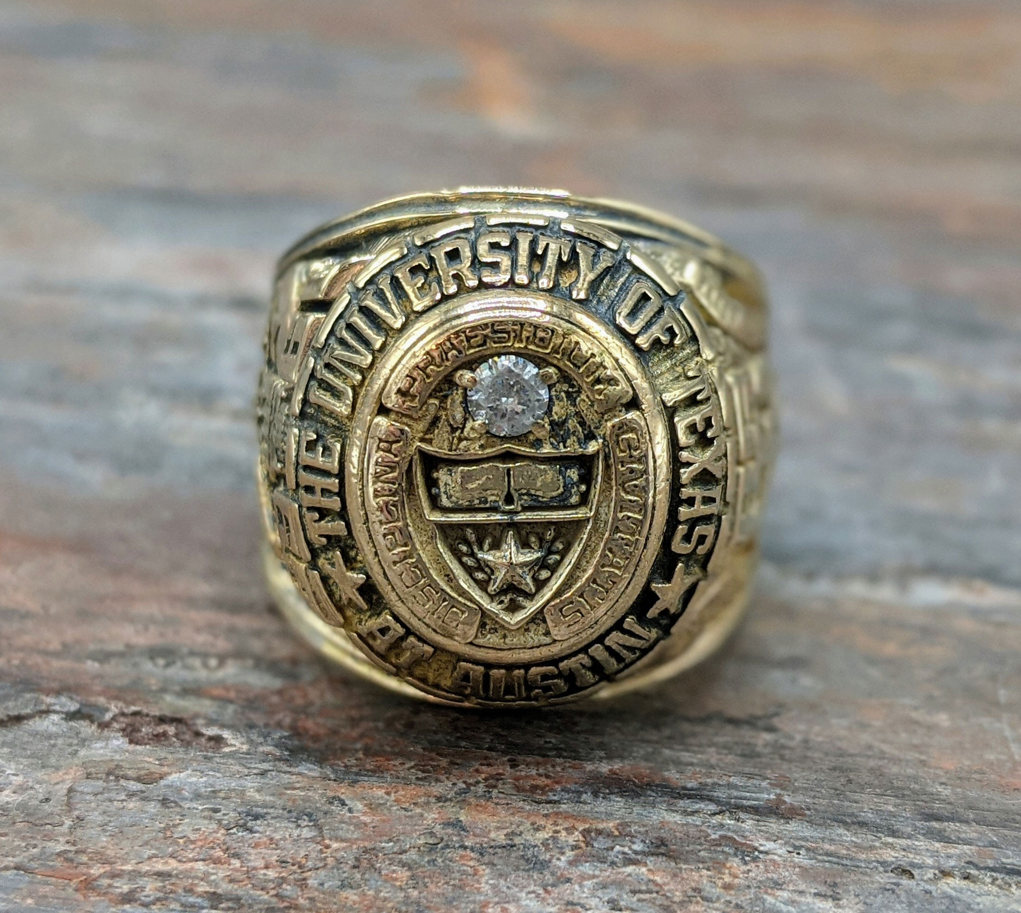 Restored ring from Fire Damage - Caldor Fire